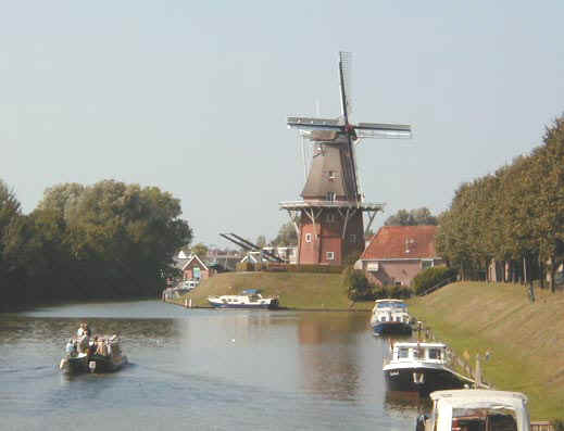 windmühle in dokkum